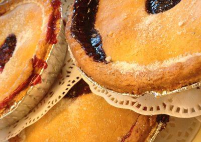 Fresh fruit pie (apple, blackcurrant, bilberry. raspberry)