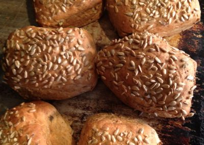 Muiti seed barmcakes
