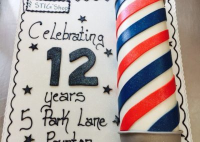Barbers Shop Cake