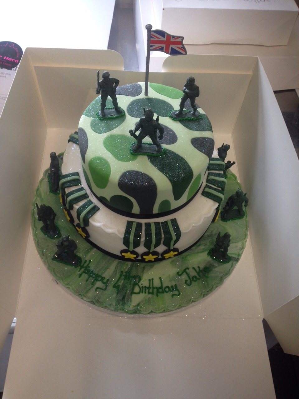 Army Theme Cake Peter Herd