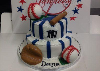 Baseball Theme Cake