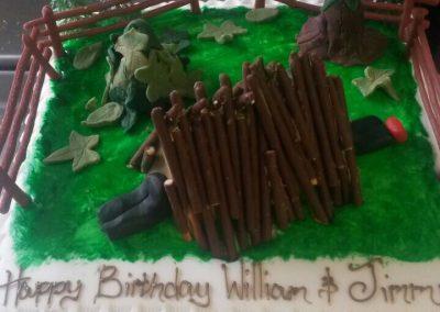 Den Building Cake