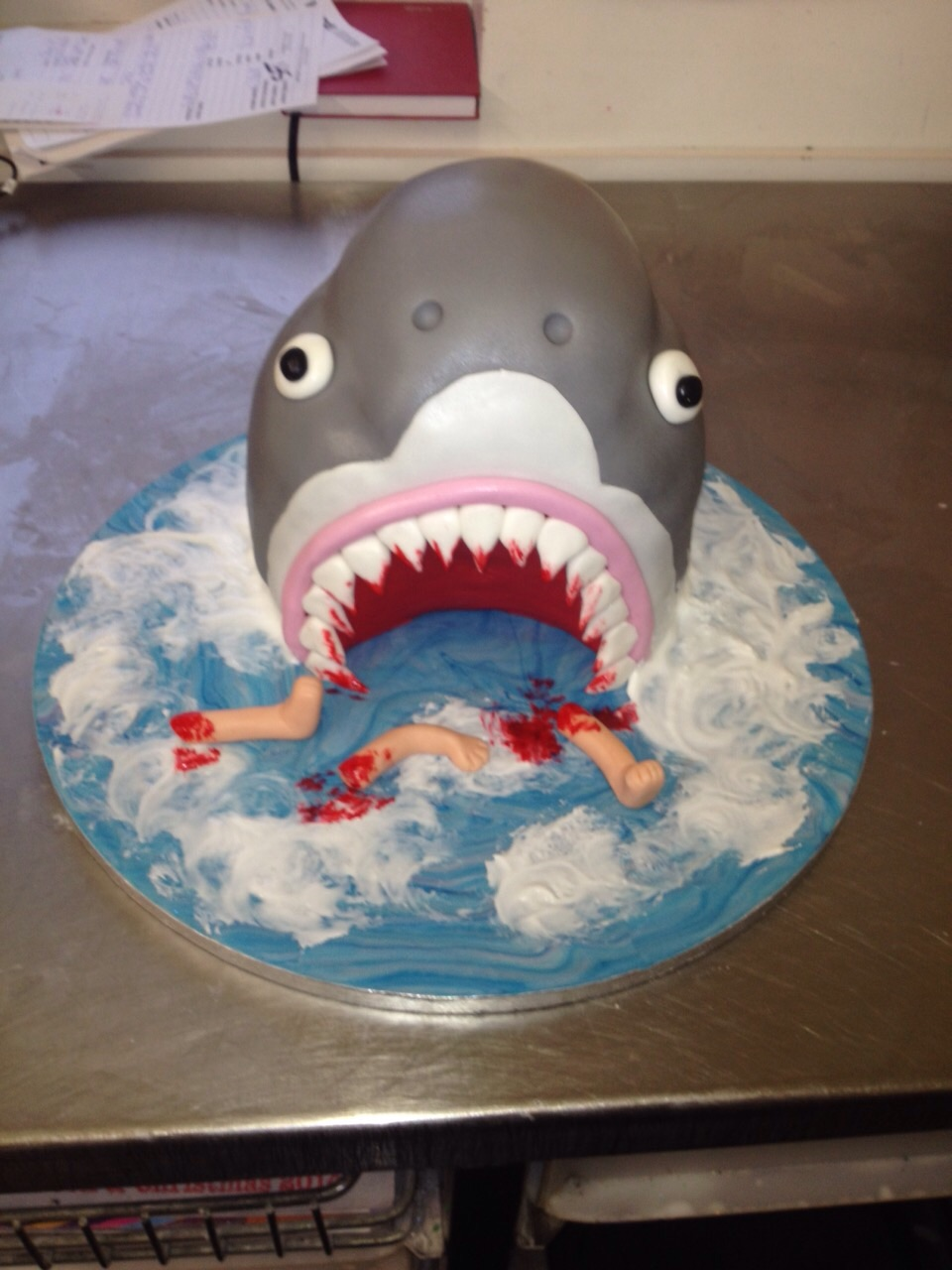 Jaws Cake Peter Herd