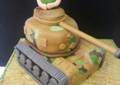 Tanker Cake