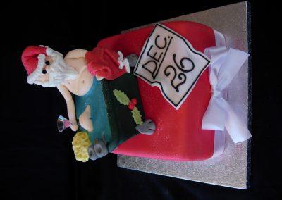 Santas Day Off Cake