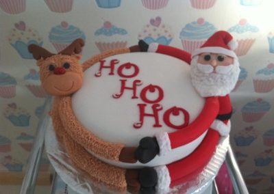 HO HO HO Cake