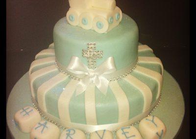 2 Tier Train Cake