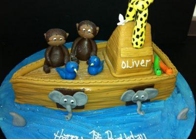 Noahs Ark Cake 3