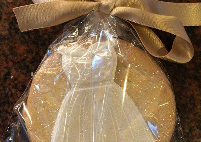 White Dress Biscuit