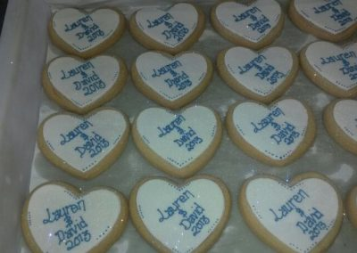 Wedding Favour Shortbread Hearts