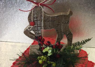 Wooden Reindeer Cake