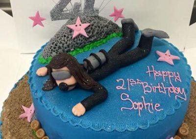Scuba Dive Cake