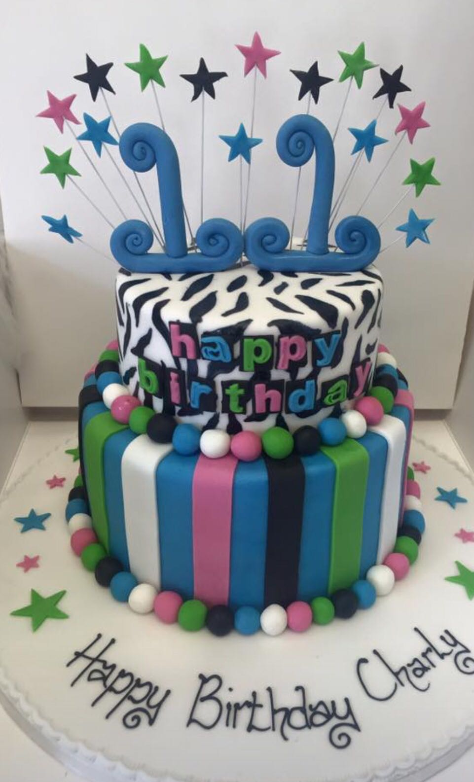 Astonishing Funky Birthday Cake Peter Herd Personalised Birthday Cards Arneslily Jamesorg