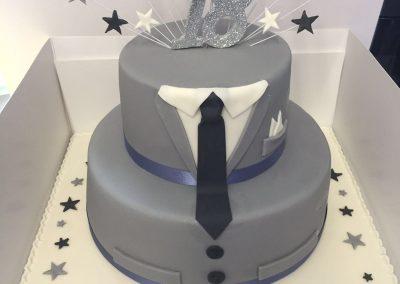 Suit Cake