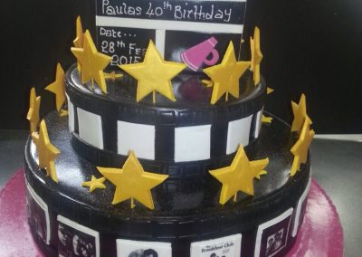 Two Tier Film Cake