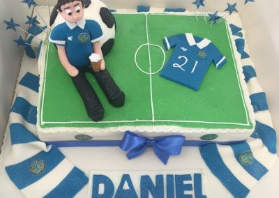 Football Pitch Cake