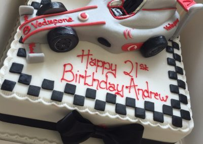 F1 Racing Cake