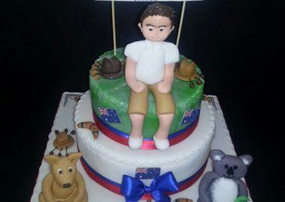 Aussi Getaway Cake