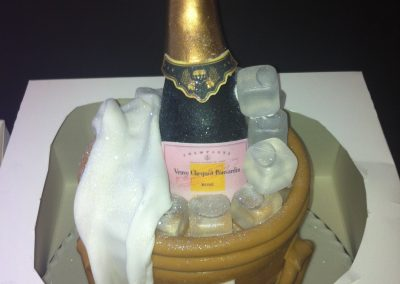Celebrate with Champagne Cake