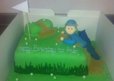 Golfing Cake