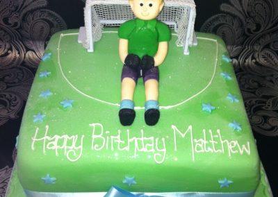 Goal Keeper Cake