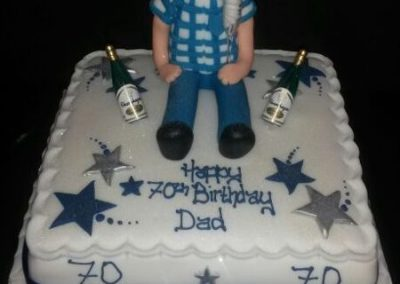 70th Dad Cake
