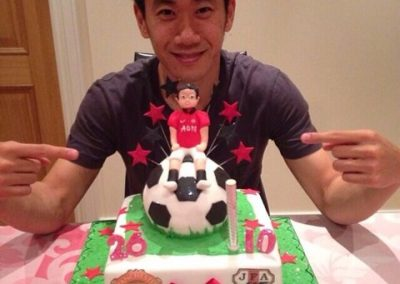 Kagawa Football Cake