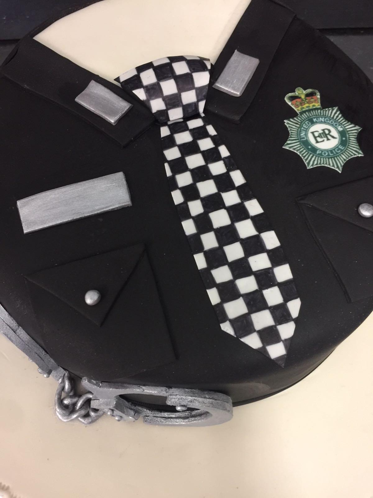 Police officer cake - Peter Herd