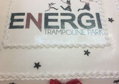 Trampoline Park Cake